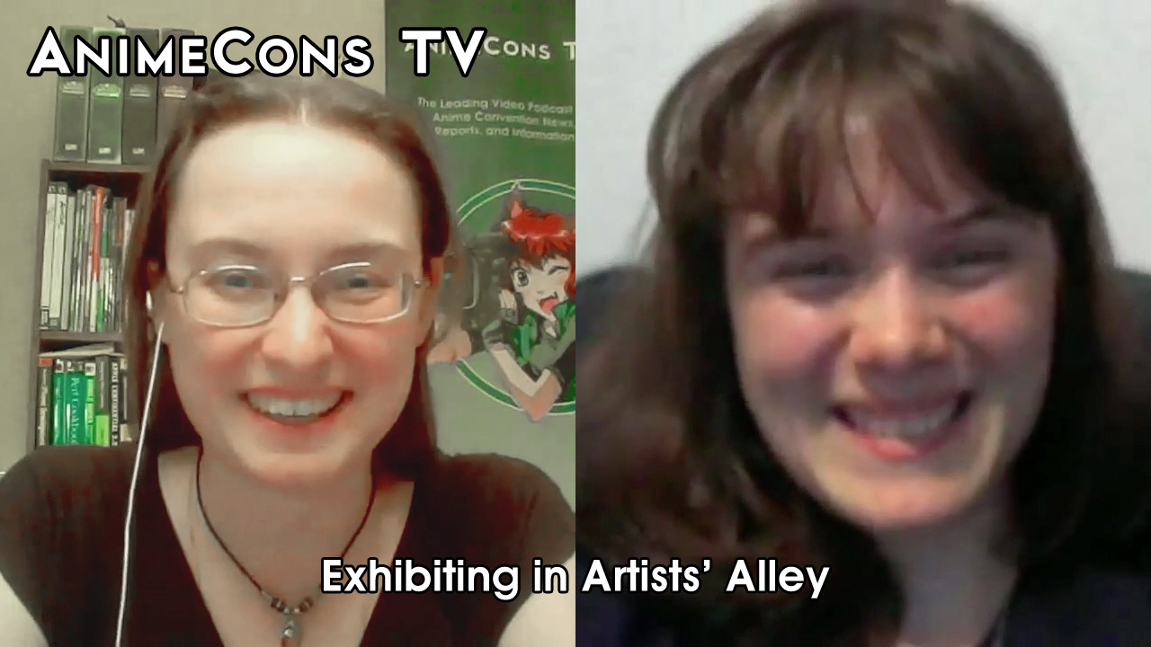 AnimeCons TV - Exhibiting in Artists' Alley