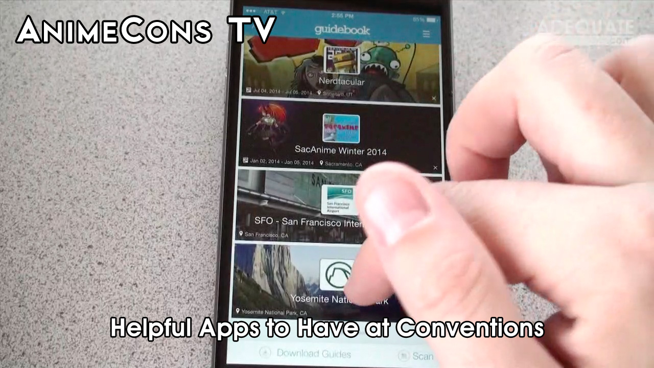 AnimeCons TV - Helpful Apps to Have at Conventions