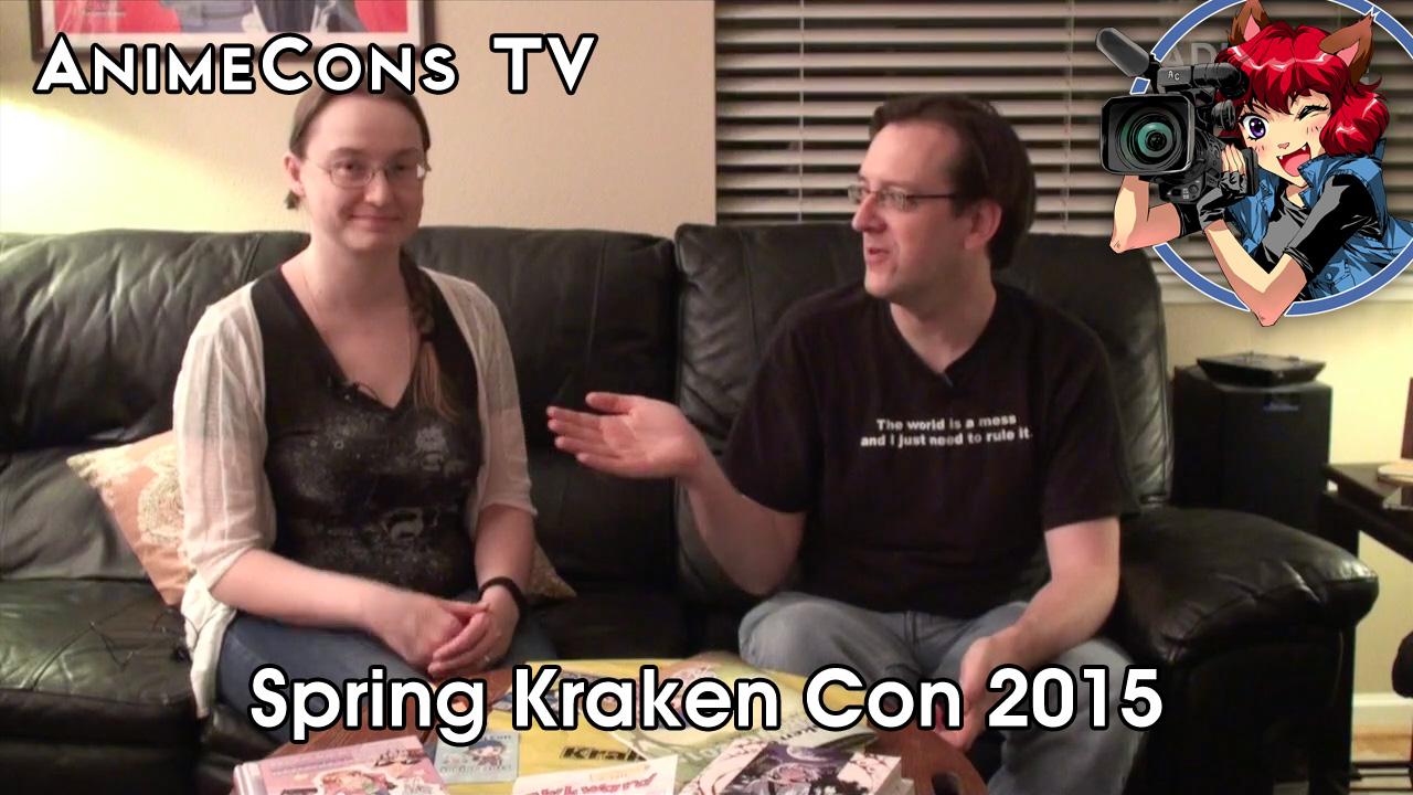 AnimeCons TV - Spring Kraken Con 2015 Report