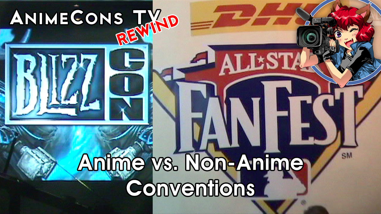 AnimeCons TV - Anime vs. Non-Anime Conventions
