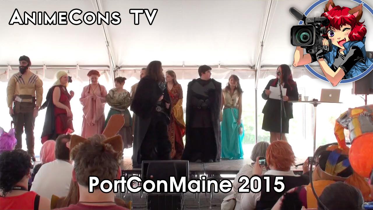 AnimeCons TV - PortConMaine 2015 Report