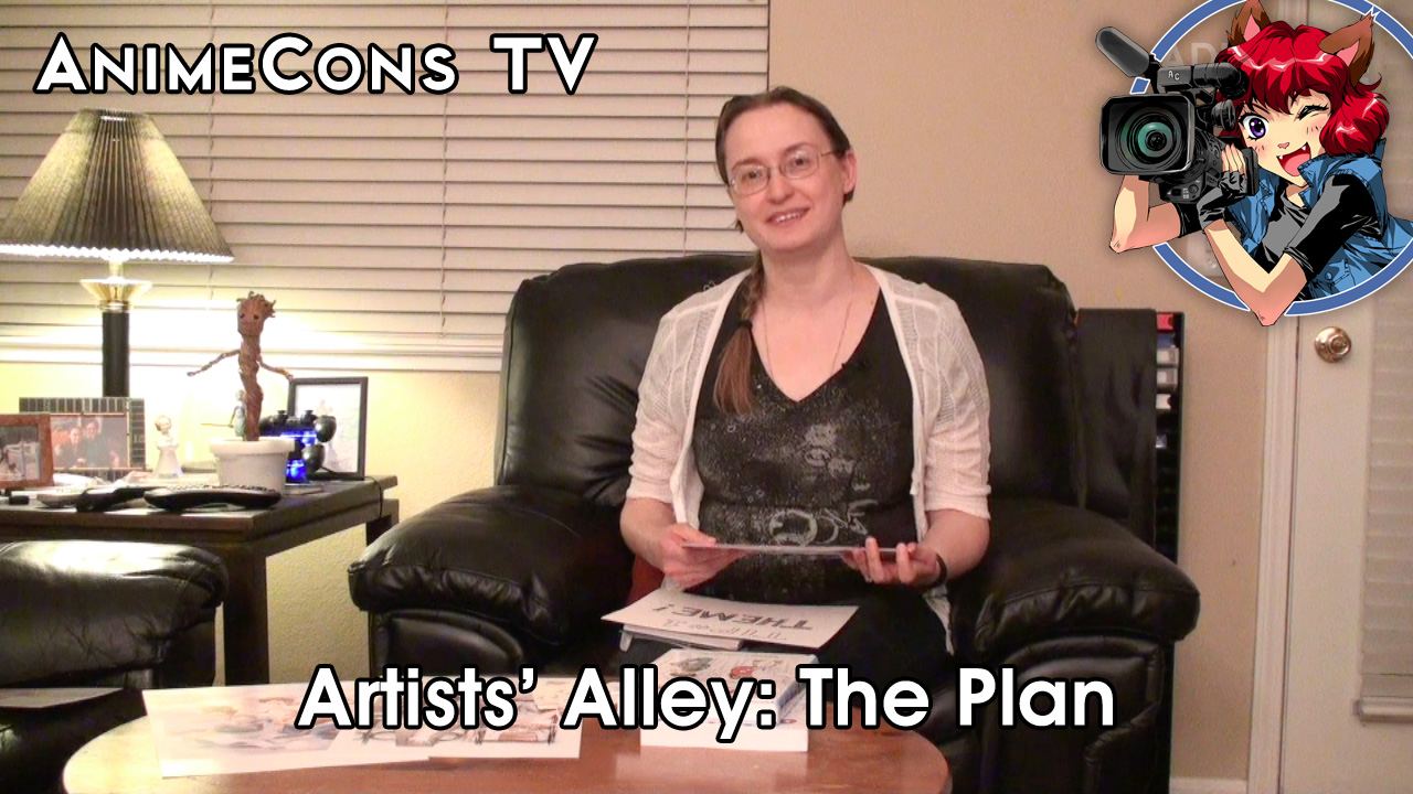 AnimeCons TV - Artists' Alley: The Plan