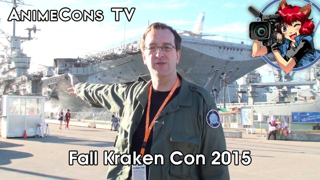 AnimeCons TV - Fall Kraken Con 2015 Report