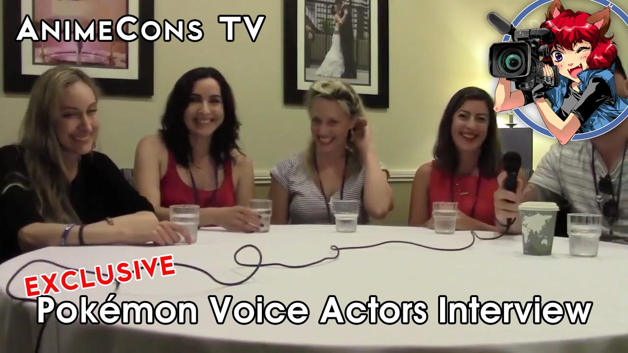 AnimeCons TV - Pokémon Voice Actors Interview