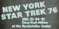 New York Star Trek 1976