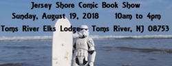 Jersey Shore Comic Book Show 2018