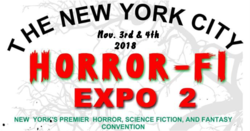 New York City Horror-Fi Expo 2018