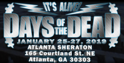 Days of the Dead Atlanta 2019