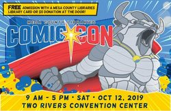 Mesa County Libraries Comic Con 2019
