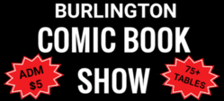 Burlington Comic Book Show 2020
