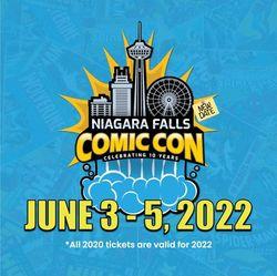 Niagara Falls Comic Con 2022