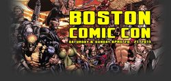 Boston Comic Con 2013