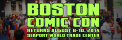 Boston Comic Con 2014