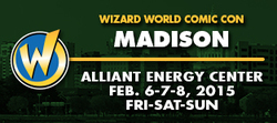 Wizard World Comic Con Madison 2015