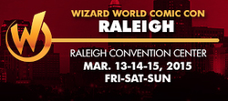 Wizard World Comic Con Raleigh 2015