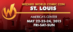 Wizard World Comic Con St. Louis 2015