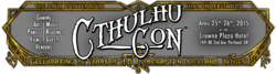 CthulhuCon 2015
