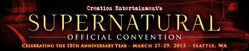 Creation Entertainment's Supernatural Official Convention 2015