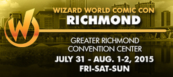 Wizard World Comic Con Richmond 2015