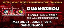 Wizard World Comic Con Guangzhou 2015