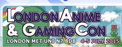 London Anime & Gaming Con 2015