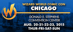 Wizard World Comic Con Chicago 2015
