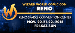 Wizard World Comic Con Reno