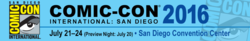 Comic-Con International: San Diego 2016