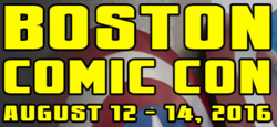 Boston Comic Con 2016