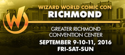 Wizard World Comic Con Richmond 2016