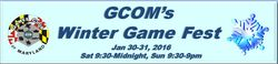 GCOM's Winter Game Fest 2016