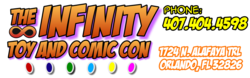 Infinity Toy and Comic Con 2016