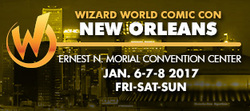 Wizard World Comic Con New Orleans 2017