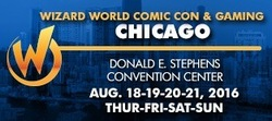 Wizard World Comic Con Chicago 2016