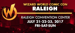 Wizard World Comic Con Raleigh 2017