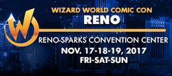 Wizard World Comic Con Reno 2017