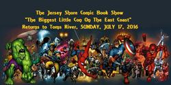 Jersey Shore Comic Book Show 2016