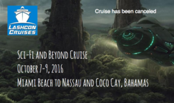 Sci-Fi and Beyond Cruise 2016