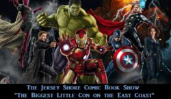 Jersey Shore Comic Book Show 2017