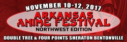 Arkansas Anime Festival: Northwest Edition 2017