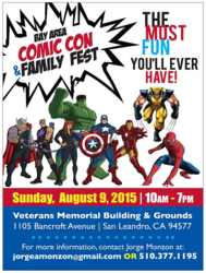 Bay Area Comic Con & Family Fest 2015