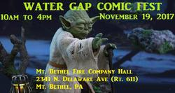 Water Gap Comic Fest 2017