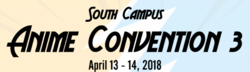 South Campus Anime Convention 2018