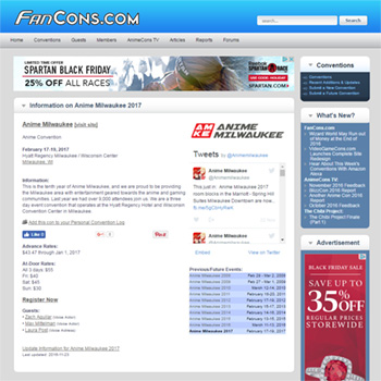FanCons.com Database Has Over 8,000 Conventions