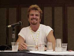 Scott McNeil was glowing