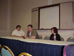 Chris, Mike, and Mara are webmasters