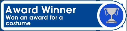 Award Winner: Won an award for a costume