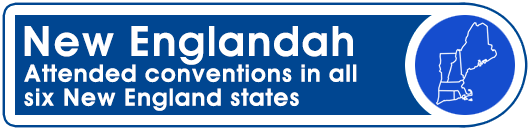 New Englandah: Attended conventions in all six New England states
