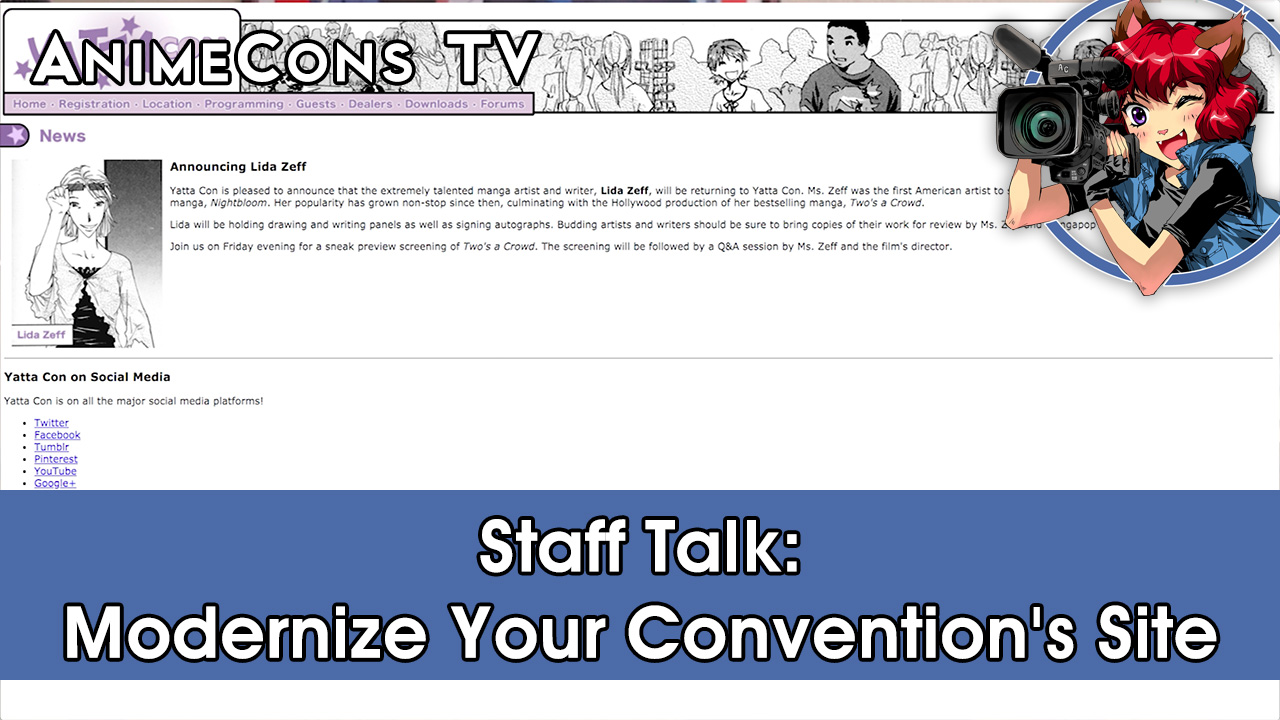 Staff Talk: Modernize Your Convention's Site