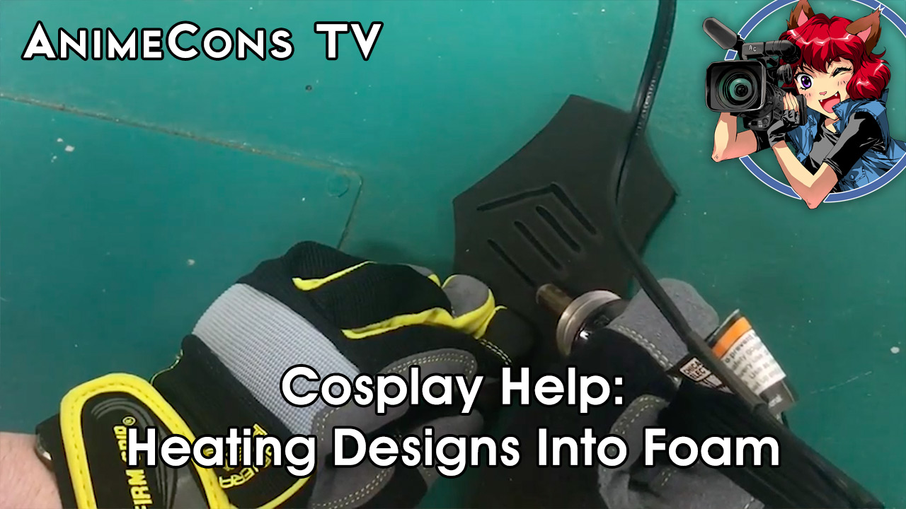 Cosplay Help: Heating Designs Into Foam